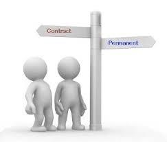 Contract v perm