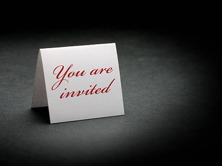 R.S.V.P. – Will you accept the invitation?