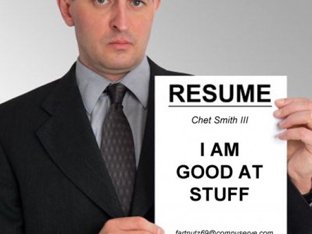 10 reasons you don't need to read a CV when hiring…