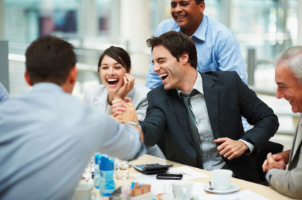 happy-employee-at-meeting