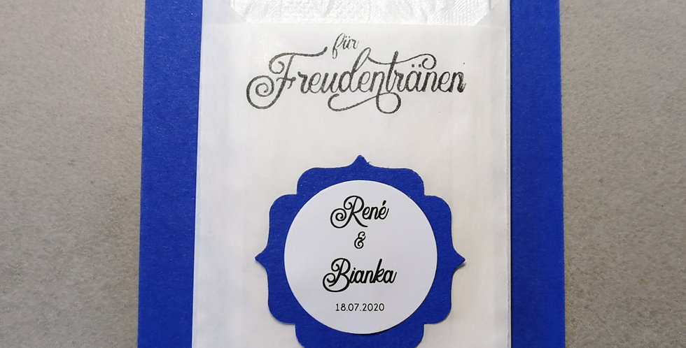 Tränenfänger Ornament (königsblau)