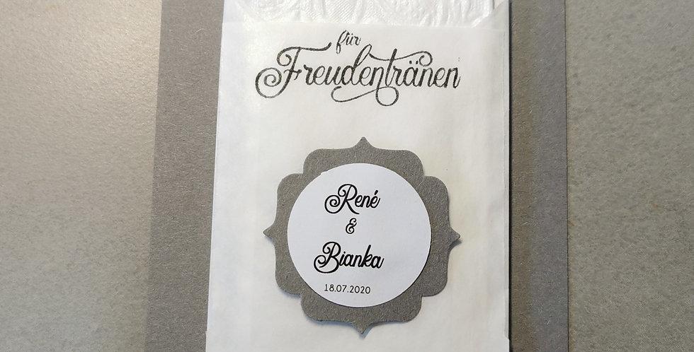 Tränenfänger Ornament (steingrau)