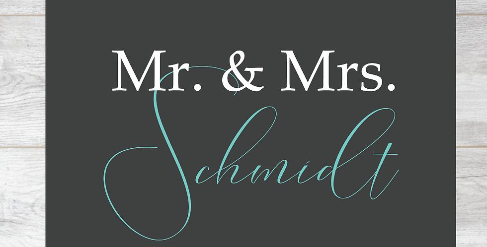 Fussmatte *Mr.&Mrs.*
