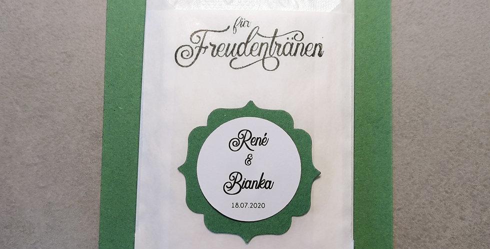 Tränenfänger Ornament (moosgrün)