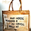 Thumbnail: Große Leinen-Tasche MAMA