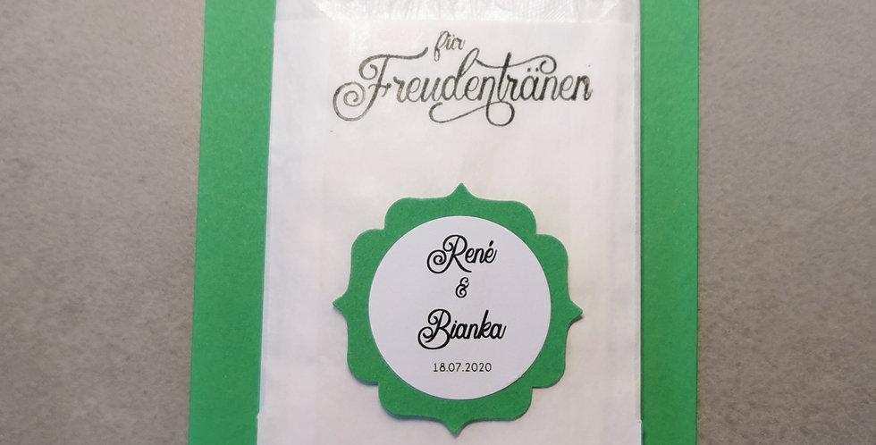 Tränenfänger Ornament (smaragdgrün)
