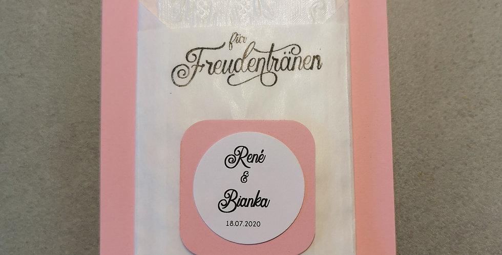 Tränenfänger Schlicht (rosa)