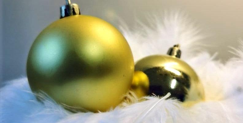 Christbaumkugel  (gold)