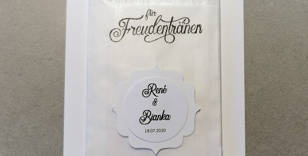 Tränenfänger Ornament (weiß)