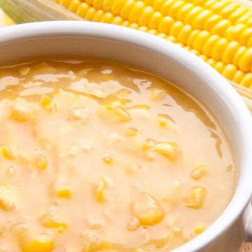 Sopa Creme de Milho com Brócolis