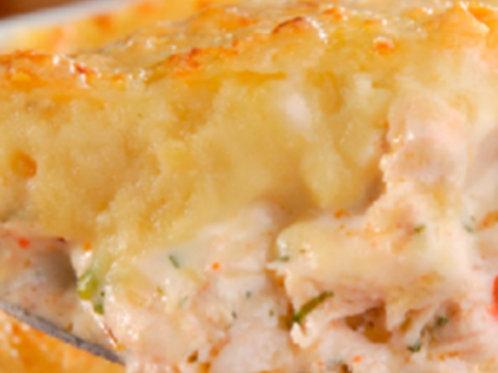 Escondidinho  de frango com batata doce. Sem glúten e sem lactose 😋