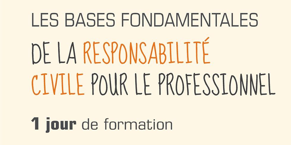 Les bases fondamentales de la responsabilité civile pour le professionnel