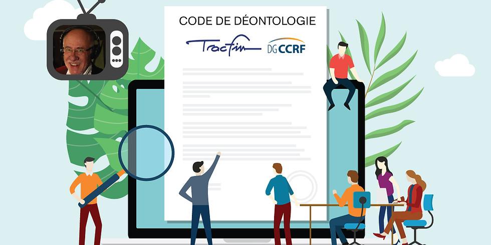 Webinar : Le code de déontologie et les nouvelles mesures Tracfin pour les professionnels de l'immobilier