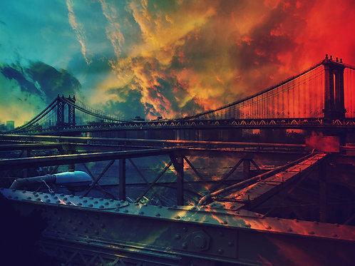 """""""Manhattan Bridge"""" (2015)"""