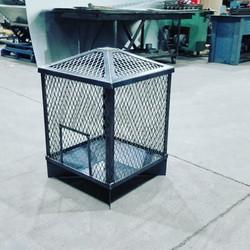 Enclosed Firepit