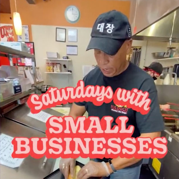 Instagram Reel: Saturday's with Small Businesses