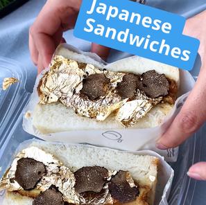 Instagram Reel: Japanese Sandwiches Trend