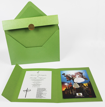 Printed Espinoza Wedding Invite