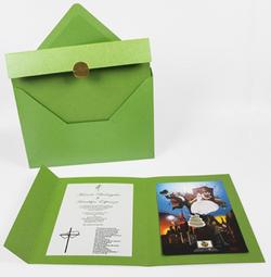 Printed Espinoza Wedding Invite