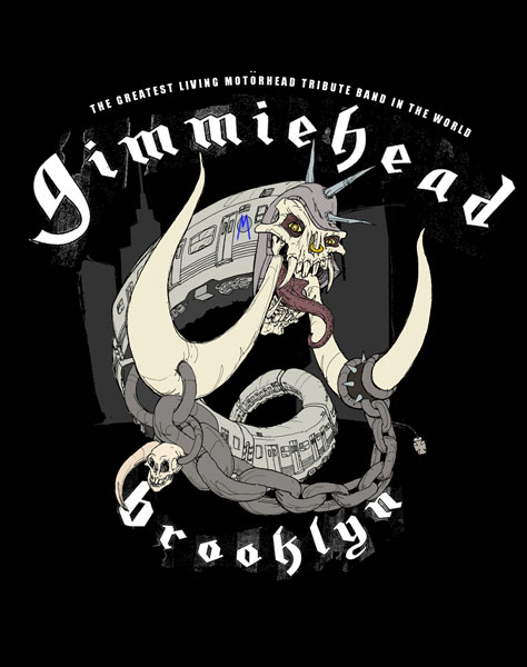 Gimmiehead Mascot and Shirt Design