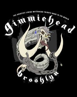 Gimmiehead Mascot and Shirt Design