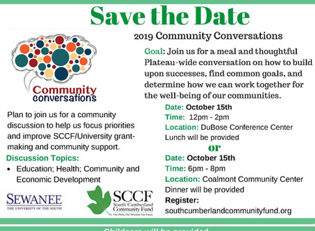 Please Join Us for Community Conversations