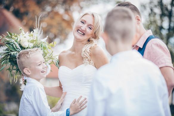Die Rührung einer Braut Hochzeitsbilder Schwäbisch Hall