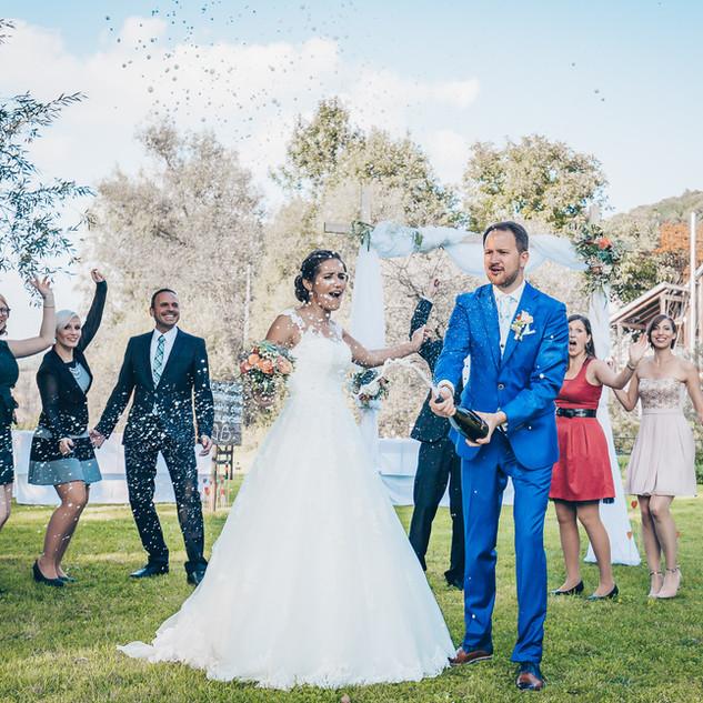 Partybild Hochzeit