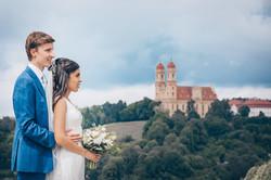 Hochzeitsfotografie Bergkirche Ellwangen