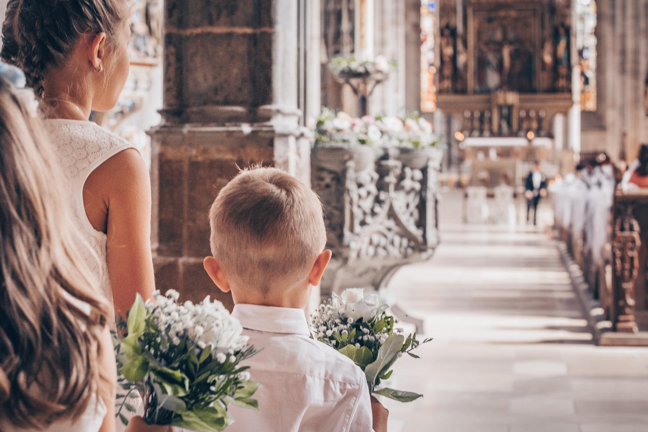 Hochzeitsfotograf Ellwangen Hochzeitsfotografie Einzug der Braut