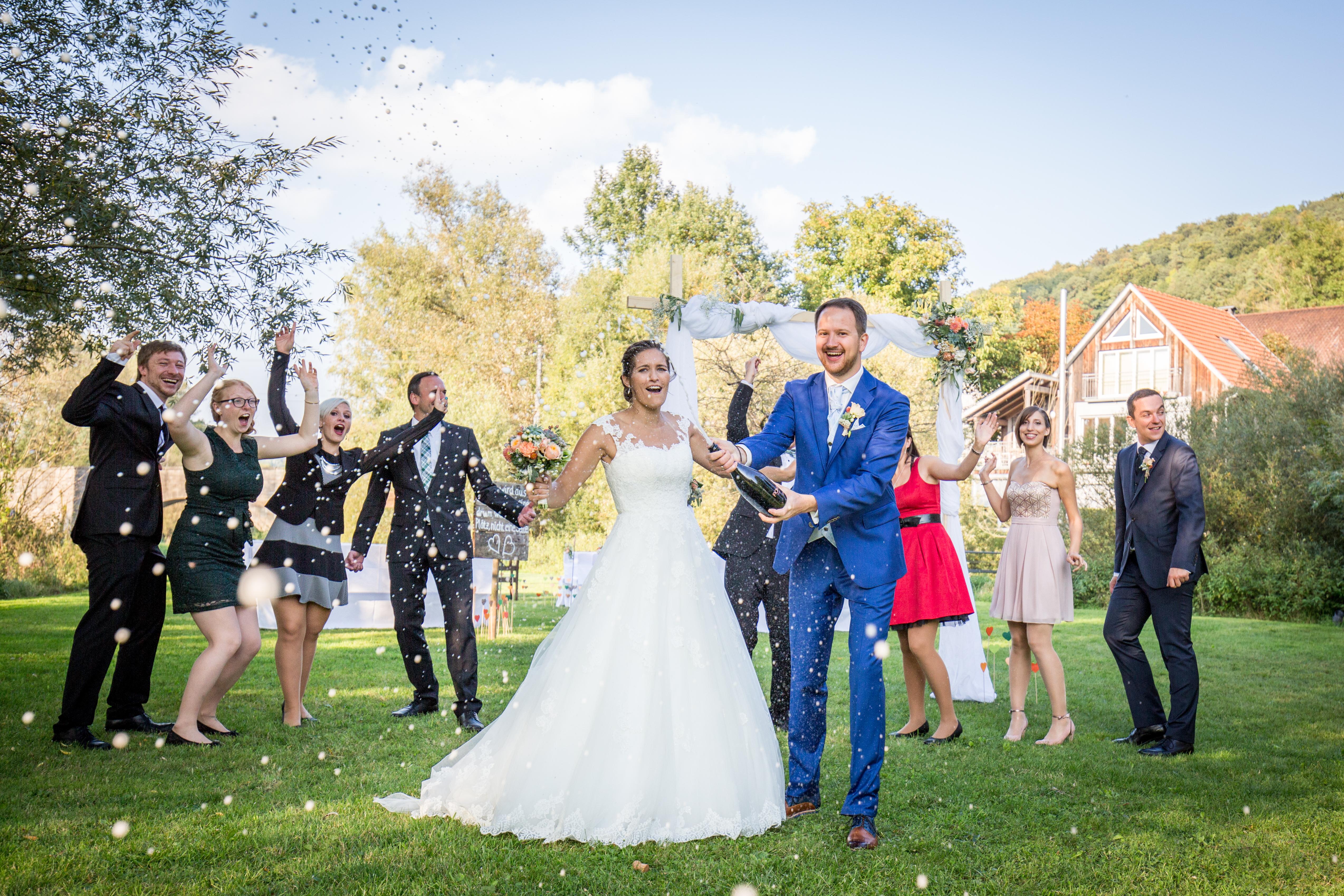 Trauung Hochzeitsfeier In Mulfingen Jagstmuhle Ganztatige