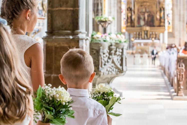 Heiraten im Dom von Dinkelsbühl...