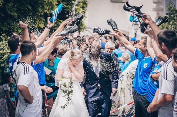 Wundervolles Spalier Hochzeitsfotografie Crailsheim