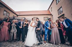 Hochzeitsfotograf Ellwangen Hochzeitsfotografie Sektempfang