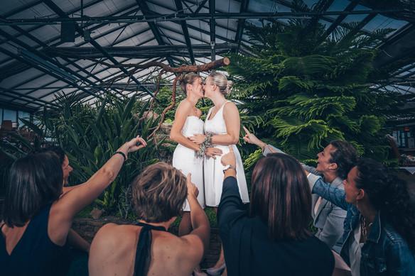 Zwei Bräute - ein Traum Hochzeitsbilder Aalen
