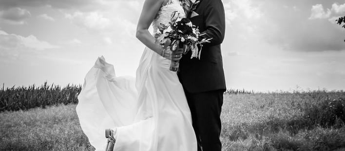 Romantische Hochzeit am Brombachstausee