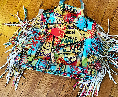 Graffiti  Book Bag