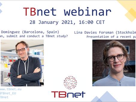 TBnet Research Webinar January 28 @ 16:00 CET