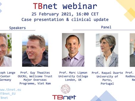 TBNET Webinar: CLINICAL TB
