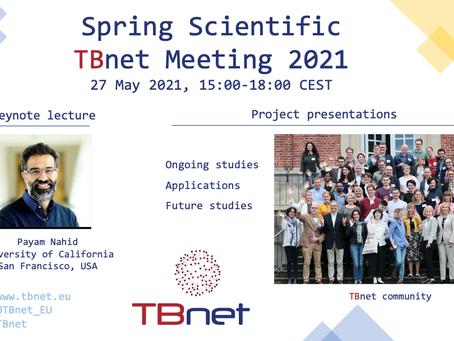 Spring Scientific TBnet Meeting 27 May 2021