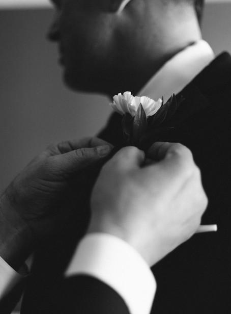 Marg + John's enchanting blended family wedding