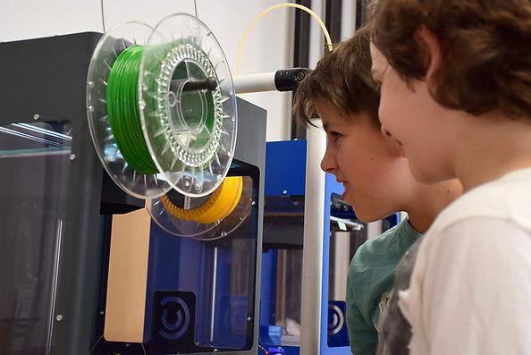 3D nyomtatás Jövő városa tábor makerspace