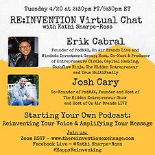Erik & Josh _ Re_invention virtual chat.