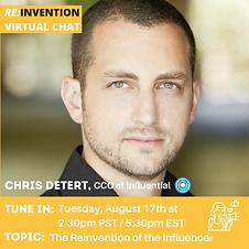 Chris Detert Virtual Chat