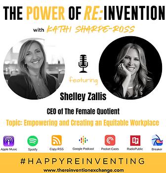 Shelley Zallis  REINVENTION VIRTUAL CHAT