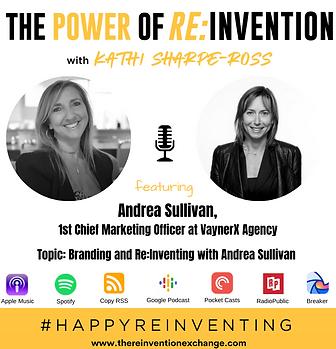 Andrea Sullivan - THE POWER OF REINVENTI