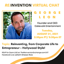 George Leon - THE REINVENTION VIRTUAL CHAT