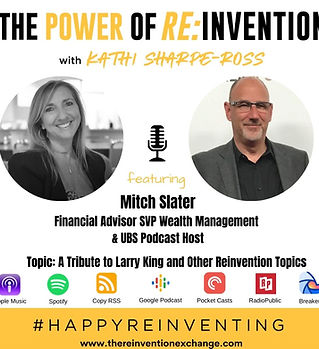 Mitch Slater - THE POWER OF REINVENTION