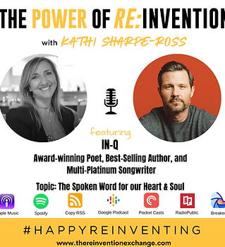 IN-Q - THE POWER OF REINVENTION Podcast.