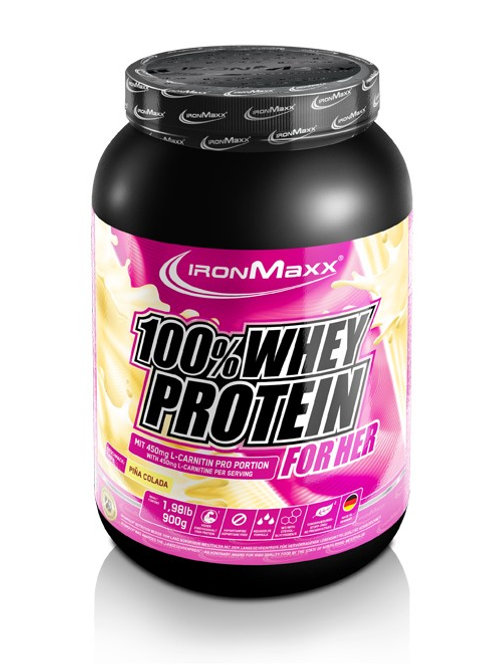 IronMaxx - Whey Protein 900g for Her